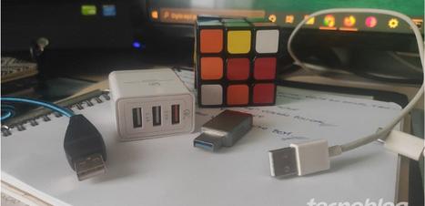 Qual a diferença entre USB 2.0 e USB 3.0?