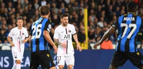 Com Messi, PSG fica no empate; City começa goleando em casa