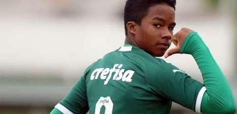 Endrick decide e Palmeiras busca empate contra Grêmio no Brasileiro Sub-20