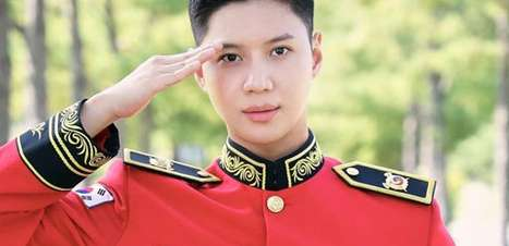 Fotos inéditas de Taemin no exército militar são divulgadas!