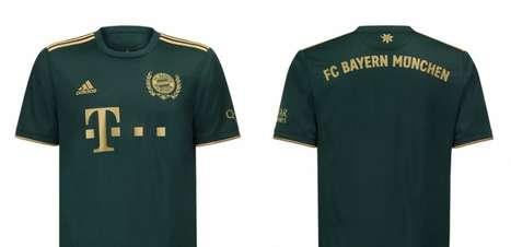 Bayern de Munique lança uniforme especial em homenagem à Oktoberfest; veja fotos