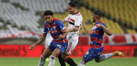 Benítez joga mal em eliminação do São Paulo contra o Fortaleza; veja números do meia argentino