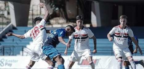 São Paulo tem jogo importante para manter liderança no Paulistão Sub-20