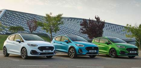 Distante do Brasil, Ford Fiesta ganha facelift na Europa