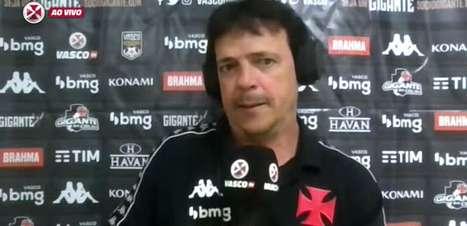 """VASCO: Diniz vê equipe superior que o CRB, defende boa produção ofensiva, mas lamenta empate fora de casa: """"Coisas do futebol"""""""