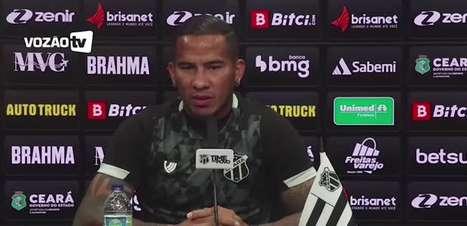 """CEARÁ: Jael faz autocrítica, diz que não está satisfeito, cita lesões e ressalta: """"sei que preciso melhorar"""""""