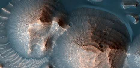 Nasa confirma a existência de erupções vulcânicas em Marte