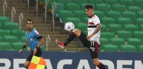 São Paulo tem jogadores importantes pendurados contra o Atlético-GO