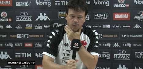 """VASCO: Diniz lamenta empate em casa com o Cruzeiro, critica arbitragem por gol anulado e avalia partida da equipe: """"Merecíamos a vitória"""""""