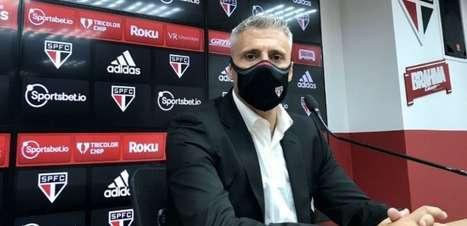Crespo analisa vitória do São Paulo: 'Mereceu ganhar'