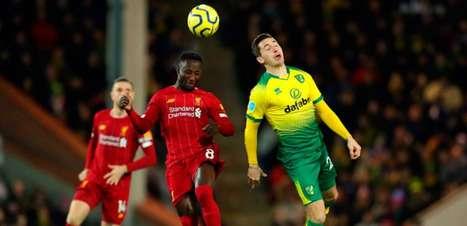 Norwich x Liverpool: horário e escalações do confronto da Copa da Liga Inglesa