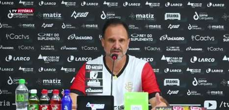 """VITÓRIA: Wagner Lopes garante que equipe 'dará a vida' para sair do Z4: """"Cada jogo é uma decisão de campeonato"""""""
