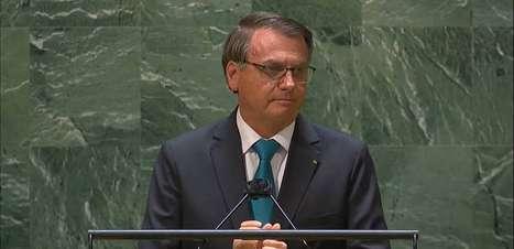 Discurso de Bolsonaro na ONU teve ajuda do filho Eduardo