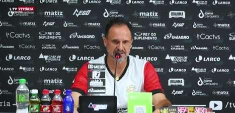 """VITÓRIA: Wagner Lopes almeja sequência sem derrotas visando conquistar vitórias nos próximos jogos: """"Trará uma confiança maior ao grupo"""""""