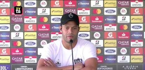 """ATLÉTICO-MG: """"Nossa defesa começa no ataque"""", reitera Hulk sobre bom momento da zaga no Brasileiro"""