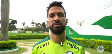 """PALMEIRAS: """"São jogos que a gente gosta de jogar"""", afirma Luan sobre clássico contra o Corinthians no fim de semana"""