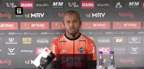 """ATLÉTICO-MG: Mariano controla ansiedade para o confronto de volta contra o Palmeiras e garante foco no São Paulo: """"Nossa cabeça está nesse jogo"""""""