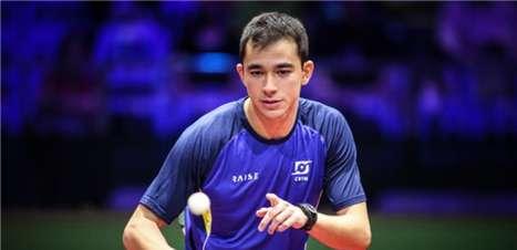 Hugo Calderano conquista título inédito do Brasil no WTT Star Contender de Doha