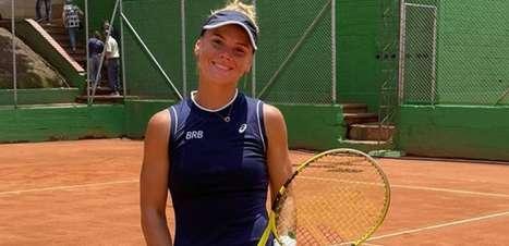 Laura Pigossi vai à final do quali na França