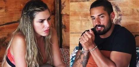 A Fazenda 2021: Erika tenta se acertar com Bil Araújo e os dois trocam farpas