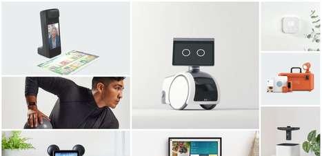Echo, Alexa e Astro: todos os lançamentos da Amazon em vídeos e fotos