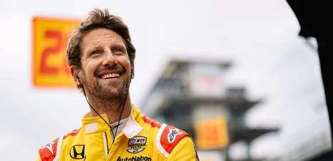 "Andretti se empolga e prevê que Grosjean ""vai brigar pelo título"" da Indy"