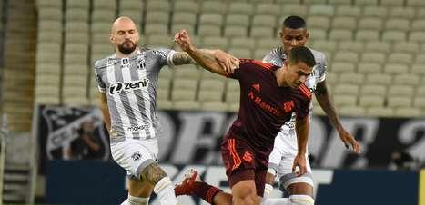 Inter empata com o Ceará e desperdiça chance de entrar no G6