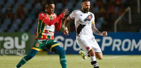 Nenê perde pênalti e Vasco é derrotado pelo Sampaio Corrêa
