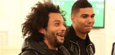 [VÍDEO]: Com Marcelo e Casemiro, Real Madrid treina forte em Data Fifa