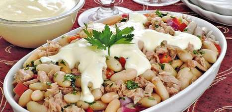 Do almoço ao happy hour: 5 receitas fáceis com feijão branco