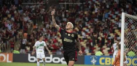 Sobrando! Atacantes do Flamengo têm mais gols que 15 times da Série A