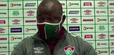 FLUMINENSE: Marcão vê time controlando jogo contra o Corinthians, explica mudança de estratégia ao levar gol e frisa que falha defensiva será corrigida