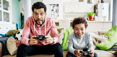 Os melhores jogos para se jogar com os filhos
