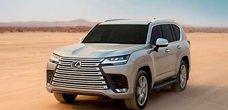 Baseado no Land Cruiser, Lexus LX chega à quarta geração