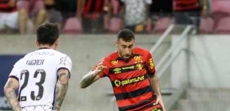 Sport perde a série de invencibilidade no Brasileirão