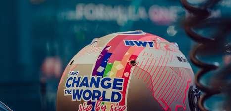 Vettel apoia causa LGBTQIA+: 'Celebrar as diferenças e qualidades'
