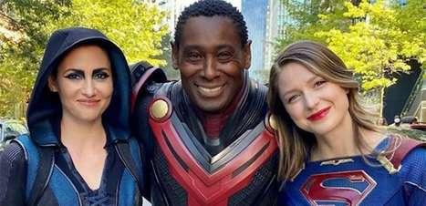 """Elenco de """"Supergirl"""" se reúne em vídeo de despedida da série"""
