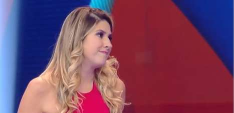 """Dani Calabresa provoca colegas e cita o """"surubão de Noronha"""" no Caldeirão"""