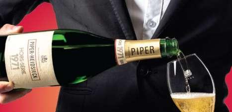 Famosa marca de champanhe lança bebida de 50 anos