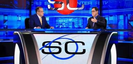 Após um ano e meio, Paulo Soares e Antero Greco voltam a apresentar o SportsCenter na ESPN