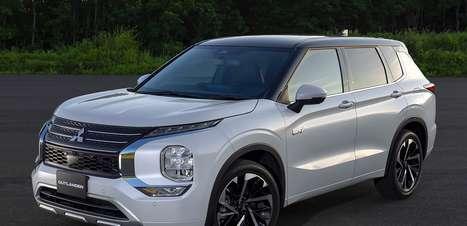Novo Mitsubishi Outlander híbrido é revelado