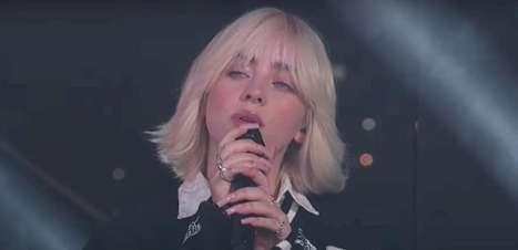 "Billie Eilish: confira a performance de ""Happier Than Ever"" na TV americana"