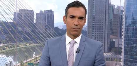 Cesar Tralli ganha presente após despedida do SP1 na Globo