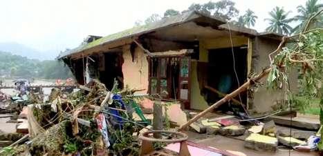 Índia: enchentes interditam vias, arrastam pontes e matam 46