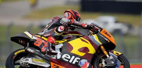 Augusto Fernandez bate Gardner e termina sexta na frente na Moto2 em Misano