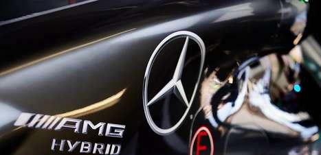 Problemas com estoque de motor da Mercedes F1