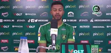 """AMÉRICA-MG: Ricardo Silva olha para a reta final do Brasileiro e espera que equipe mantenha foco do começo da temporada: """"Temos que manter a mentalidade forte"""""""