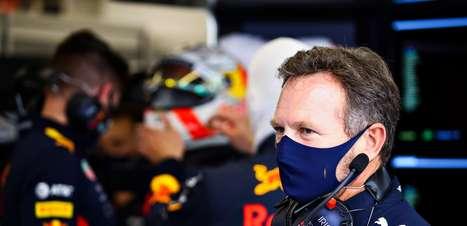"""Horner: """"Se Verstappen puder ver o capacete de Perez em seus espelhos, ele ficará feliz"""""""