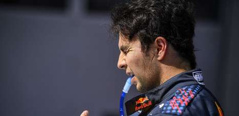 Após o P3 no GP dos EUA de F1, Pérez fala sobre o problema no sistema de hidratação