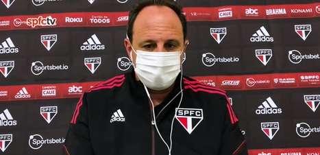 """SÃO PAULO: Ceni aponta ansiedade em querer marcar gol e pede calma aos jogadores: """"Está faltando um pouco mais de tranquilidade"""""""